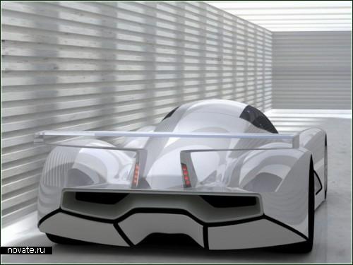 Концептуальный автомобиль на энергии ветра и солнца