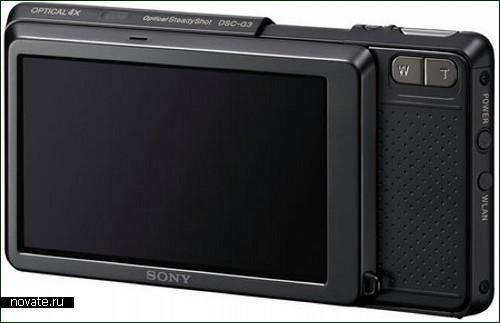 Фотоаппарат Sony Cybershot G3 со встроенным браузером