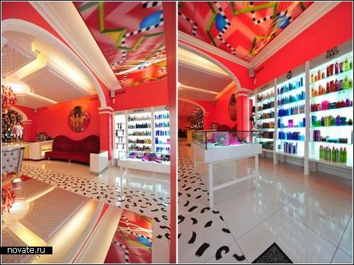 Салон-парикмахерская Style Club с креативным интерьером