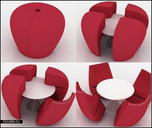 Обзор дизайнерских столов и столиков