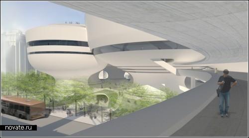 Международный конкурс проектов для Тайбэйского арт-центра исполнительного искусства