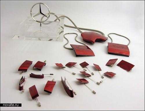 Коллекция эпатажных украшений от ателье Тэда Нотена (Ted Noten)