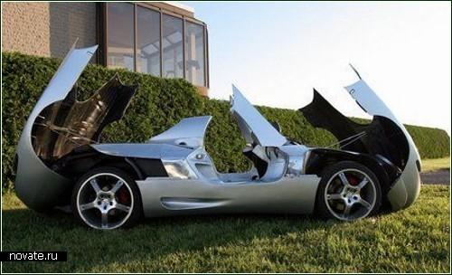 Канадский спорткар W3_Triposto на базе Porshe-911