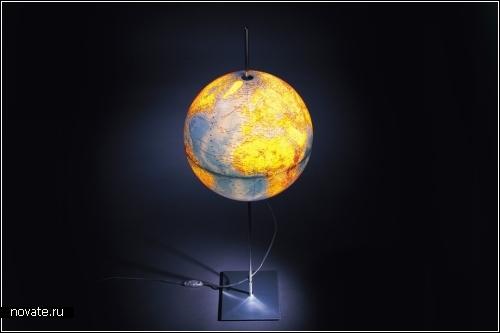 Коллекция светильников Globes - Земля, Луна и звездное небо
