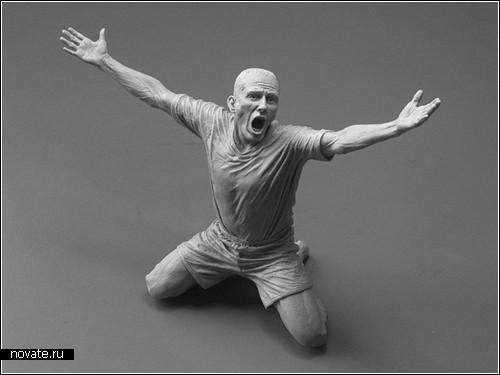 Мини-скульптуры Адама Бина (Adam Beanе)