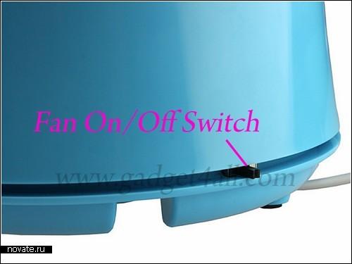Цветочный USB-горшок для очистки воздуха