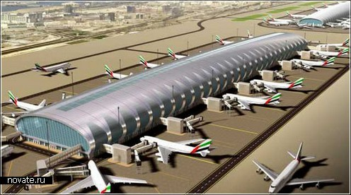 Второй терминал аэропорта в Абу-Даби
