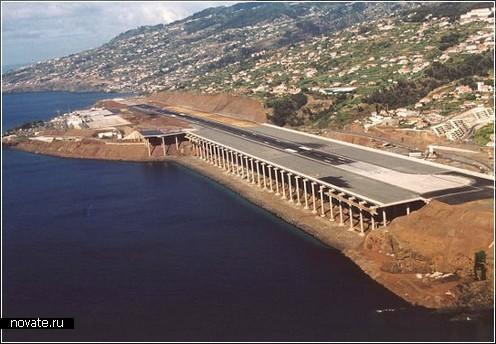 Португальский аэропорт на Мадейре по проекту Segadaes Tavares