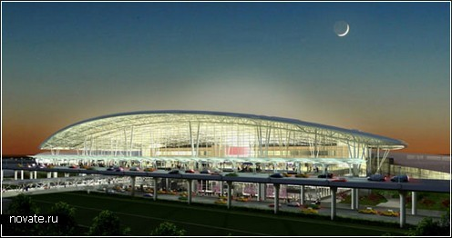 Терминал в Индианаполисе, США