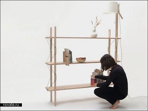 Мебель-конструктор из коллекции Еxtensions. И никаких гвоздей!