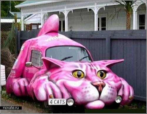Животные на колесах