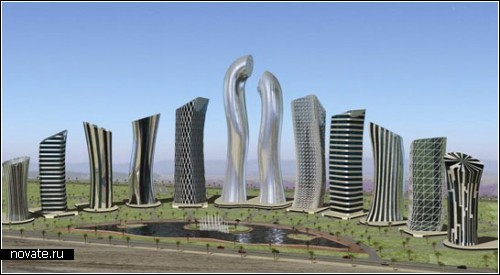 Финансовый центр, спроектированный арабскими архитекторами