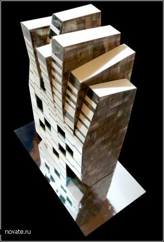 Универсальный дом-башня в Коста-Рике от moho architects. Проект
