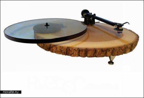 Проект Audiowood от дизайн-студии FiveTen