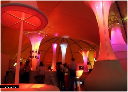 Bailissimo Travelling Bar. Бар-путешественник от Jump Studio