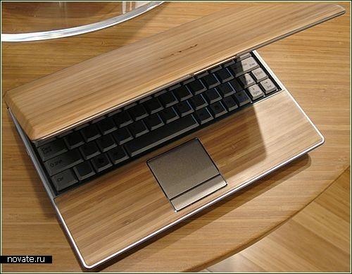 Бамбуковый ноутбук от Asus