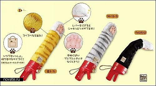 Кошачья лапка Neko Nyanbou от японской компании Bandai