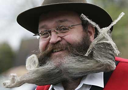 Бородатый модник, дамский угодник