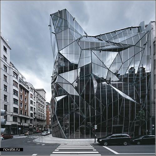 Здание департамента здравоохранения в Испании. Концепт