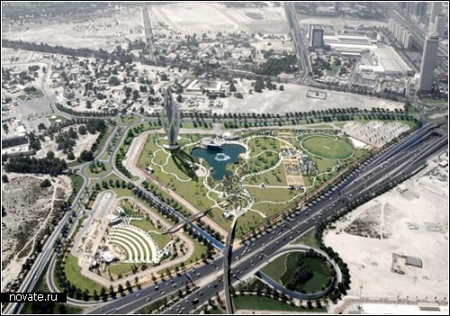 Blossoming Dubai. Небоскреб-бутон для конкурса в Дубае