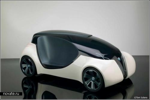 Автомобиль BMW Snug. Концепт Дэвид Раффаи (David Raffai)