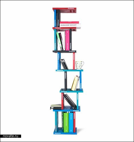 Полка для книг Bookspile из категории *сделай сам*