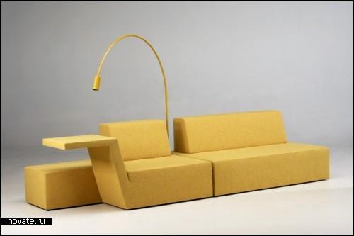 Строгий минимализм в мебели от Bram boo