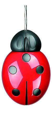 Ladybug - женская мышка-божья коровка