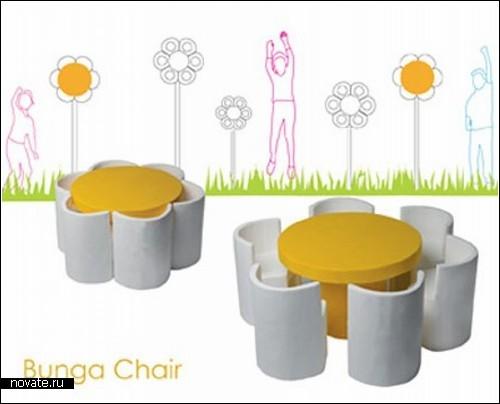 Детская мебель-ромашка
