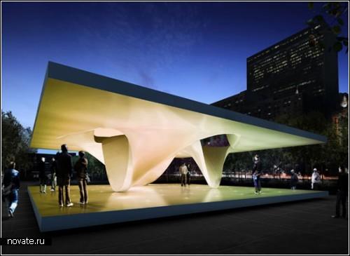 Павильон для молодежи от архитектурного бюро Unstudio