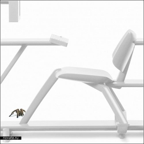 Cabinet Chair: проект домашнего кабинета для *книжных червей*