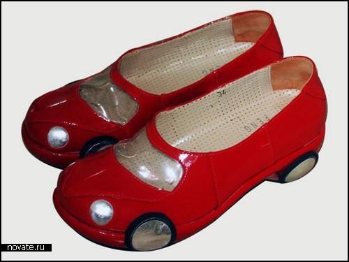Автомобильные туфли для