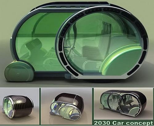 Зеленая и веселая - такова машина-2030