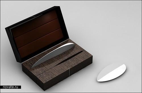 Концептуальные керамические ножи Neolithic. Изобретение дизайнера Маттиаса Каединга (Matthias Kaeding)