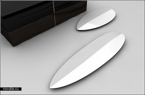 Концептуальные керамические ножи Neolithic. Изобретение дизайнера Маттиаса Каэдинга (Matthias Kaeding)