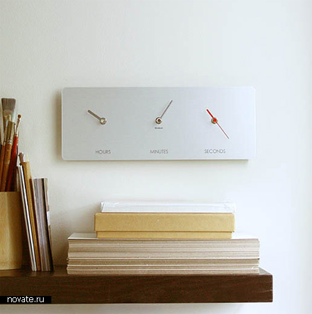 Невероятные дизайнерские часы для украшения домашнего интерьера
