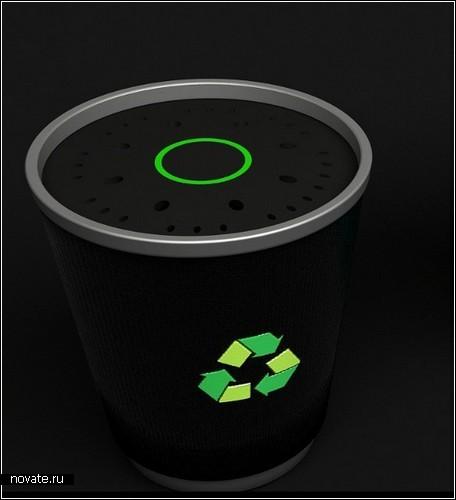 Внешний жесткий диск в виде стакана с кофе. Автор Franco Marino Cagnina