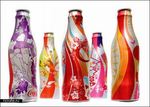 Дизайн на бутылках