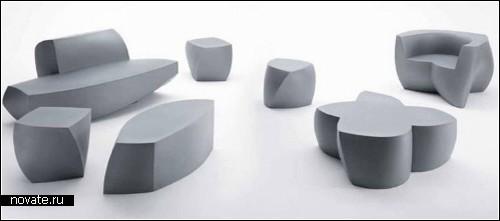 Коллекция архитектурной мебели