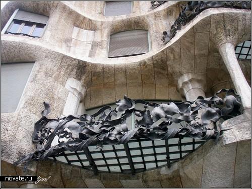 Обзор необычных балконов