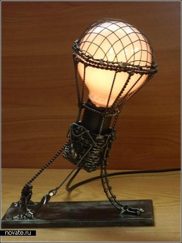 Обзор необычных светильников