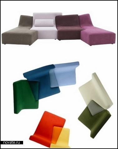 Обзор дизайнерских диванов