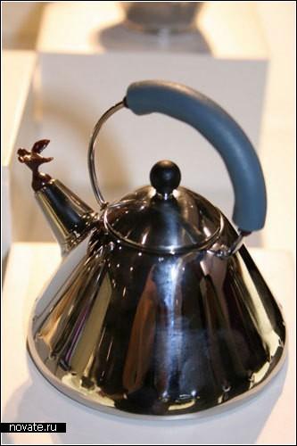Обзор дизанерских чайников для чая и нет