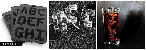 Креативные формы для льда. Обзор дизайнерских льдышек