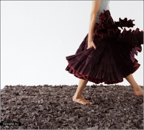 Обзор дизайнерских ковриков, половиков иковровых дорожек