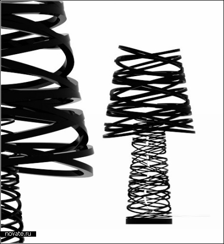 Лампы с завитушками от Димы Логинова (Dima Loginoff)