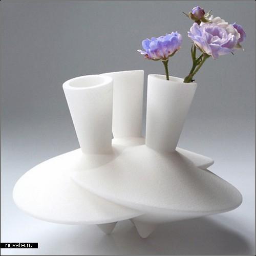 Коллекция Dancing Vases от Робин ван Хонтем (Robin van Hontem)