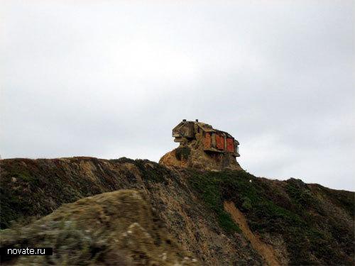 Глиняный домик. Калифорния. Вряд ли это дача губернатора