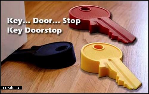 Креативные юмористические стопперы для дверей. Обзор