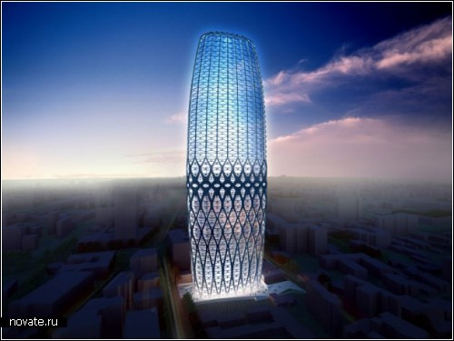 Небоскреб Dorobanti tower в Бухаресте. Проект Zaha Hadid Architects